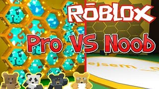 🐝Pro VS Noob🍯💐/ ROBLOX / Bee swarm simulator / jurasek05
