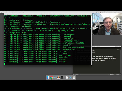 How to install pip on Mac OSX [SCREENCAST]