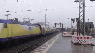 Metronom verbremst sich bei Einfahrt in Celle richtung Göttingen