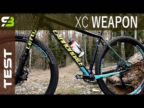Fast XC Hardtail Mountain Bike In 2017! Cannondale F-SI Carbon. SickBiker