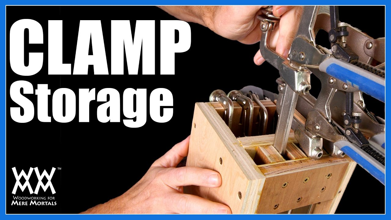 Clamp Storage Ideas 4 Clamp Racks For Your Shop Youtube