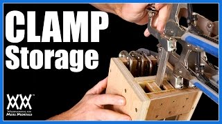 Clamp Storage Ideas | 4 Clamp Racks for Your Shop
