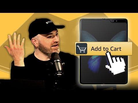 Cancelling The Samsung Galaxy Fold...