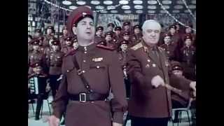 Черноглазая казачка. video HD Русская романтика. Леонид Харитонов и Хор Александрова Российск Армии