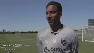 Danny Hoesen gets set for Opening Night 2018
