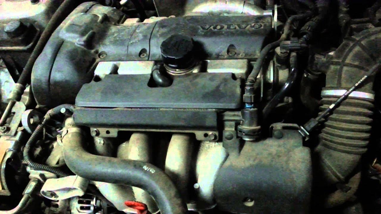 Volvo s40 1.6 vvt probléma - YouTube