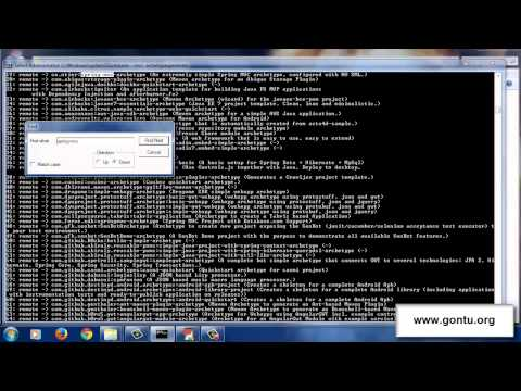 Maven Tutorials 03 - How To Use Maven 01 (Archetypes, GroupId, ArtifactId, Version, Pom.xml)
