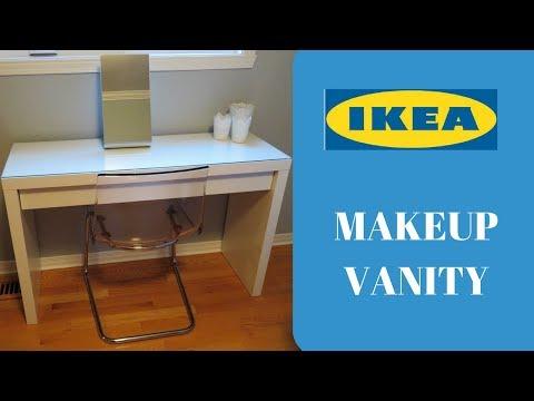 IKEA MALM DRESSING TABLE | NEW MAKEUP VANITY