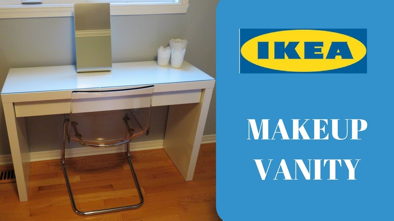 Ikea Malm Dressing Table New Makeup Vanity