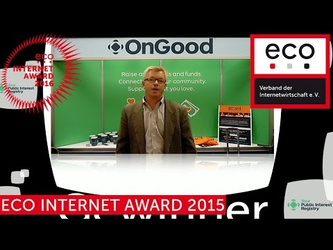 eco Internet Award 2015 - Public Interest Registry - Gewinner in der Kategorie Domains