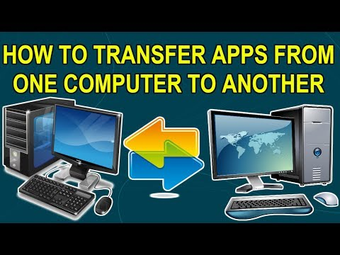 Copy Or Transfer Installed Software Programs Applications Games From One PC To Another