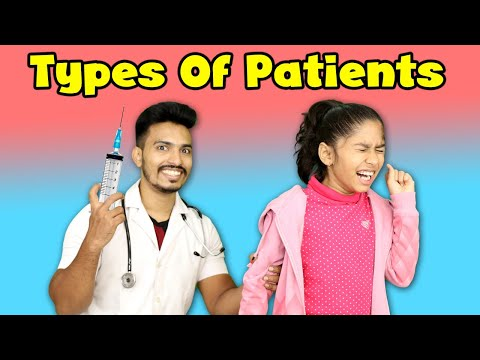 Types Of Patients During Doctor Visit | Funny Video | Pari's