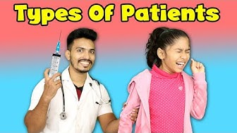 Types Of Patients During Doctor Visit   Funny Video   Pari's Lifestyle