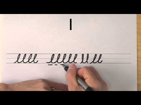 How To Write In Cursive // Lesson 13 // A Complete Course // FREE Worksheets