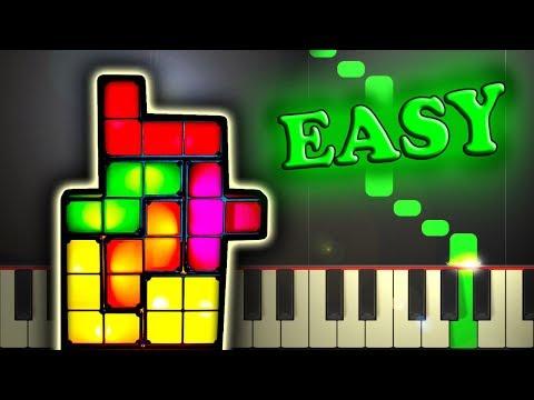 TETRIS THEME - Easy Piano Tutorial