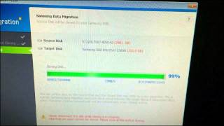 Hard Drive Migration   Samsung Solid State 840 EVO 250 GB