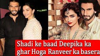 Deepika ka ghar Hoga Ranveer ka basera | Latest Bollywood news | Spicy Bollywood