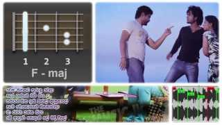 How to Playing Guitar - Wena Hithakata - Guitar SOLO - Created By THEMUSIC.lk