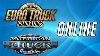 Como jogar American Truck e Euro Truck Simulator 2 ONLINE (2018)