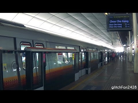 [SMRT] Set 663/664 from NS9 Woodlands to NS4 Choa Chu Kang - KHI & CSR Qingdao Sifang C151B