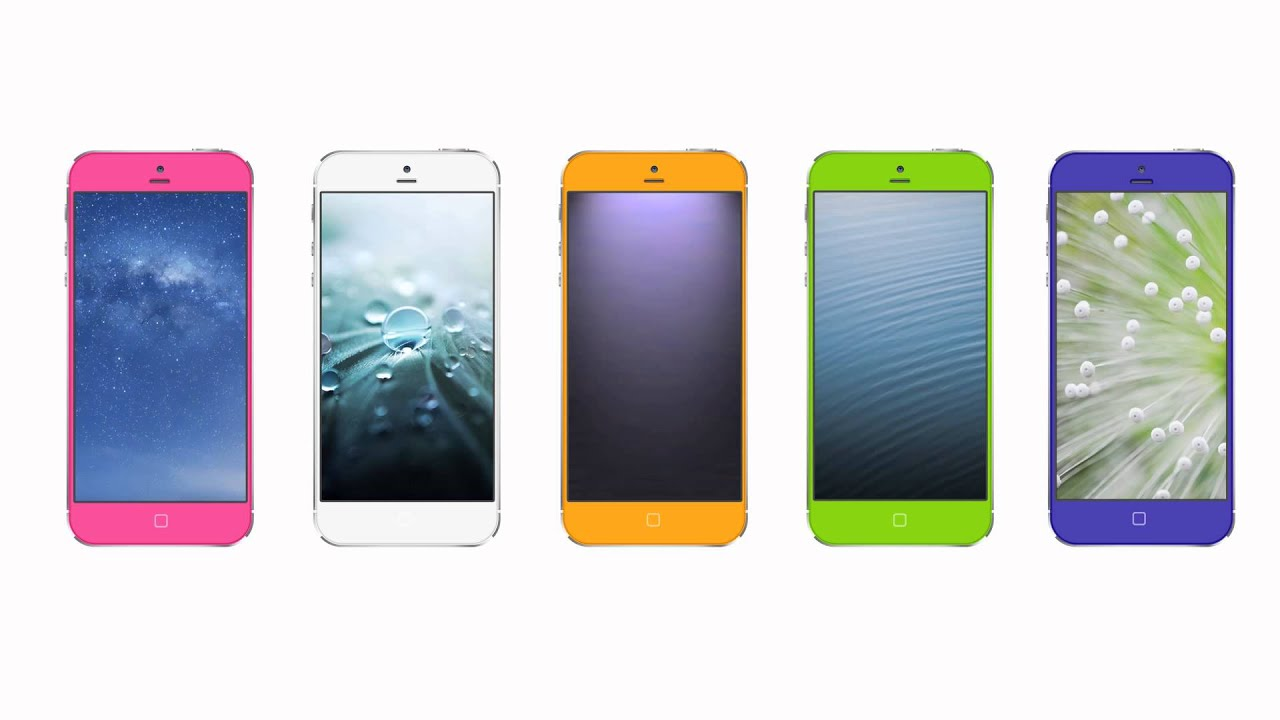 iphone 5s colors iphone 5s concept 4 8 inch display new colors 11180