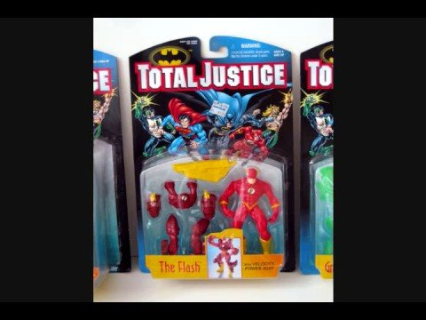 1996 Batman Total Justice (Lot 5) - Overview