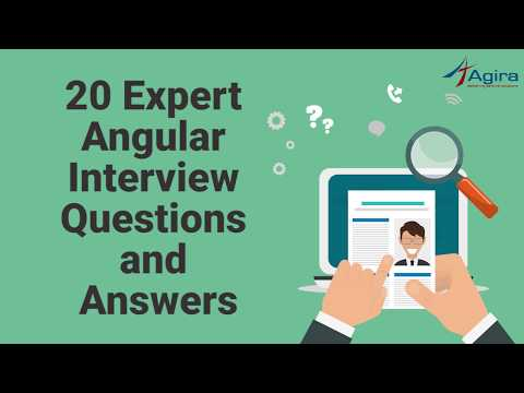 20 Expert Angular Interview Questions And Answers   Angular Q&A thumbnail