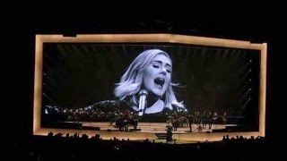 Adele 25 Tour Ending | When We Were Young, Rolling In The Deep | Staples Center