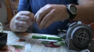 замена аккумуляторов в пылесосе