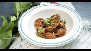 Пельмешки с мясом и солёными огурцами   Кухня по заявкам