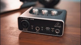 Behringer UM2 Quick Start Guide