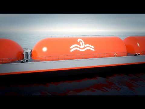 Veka Deen LNG trailer bunker tanker 90m