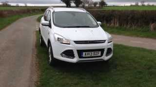 My 2013 Ford Kuga / Escape 2.0 TDCi Titanium 2wd review(Fresh out the box 2.0 tdci titanium, Ford Escape UK., 2013-04-24T13:28:00.000Z)