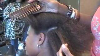 Brazillian Blowout on African American hair