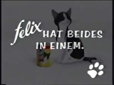 Felix Katzenfutter 1 90er Werbung 90 S Commercial Deutsch