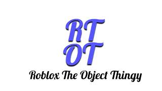 "Roblox The Object Thingy ""Lob 1.4"" Logo"