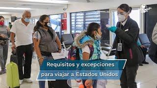 Los menores de 18 años serán la excepción a la regla impuesta por Estados Unidos para que todo viajero no estadounidense que busque ingresar vía aérea al país, esté completamente vacunado contra el coronavirus