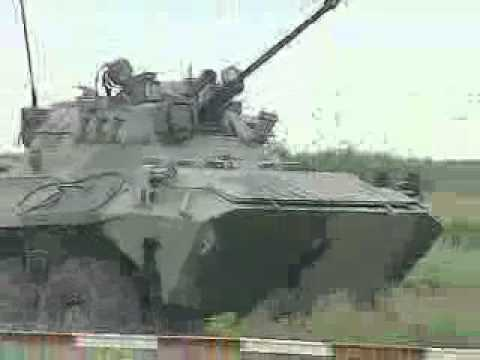 Bangladesh Military BTR 80 APC