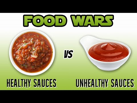 Healthy Sauces vs Unhealthy Sauces (KETCHUP, HOT SAUCE, SALSA, BBQ) | LiveLeanTV