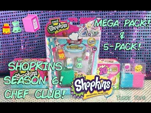 NEW!! Shopkins Season 6 CHEF CLUB Mega...