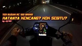 Tes Top Speed Suzuki RC Bravo  Aji VAS