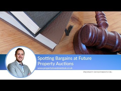 Spotting Bargains at Future Property Auctions