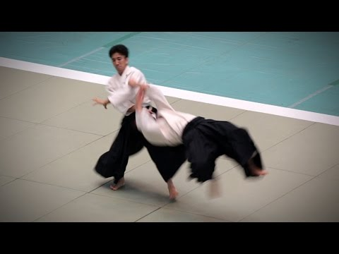 Mitsuteru Ueshiba Hombu Dojo-cho (植芝充央) - 54th All Japan Aikido Demonstration (2016)