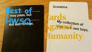 Best of HWSQ ✨ Cards Against Humanity #4✨ Howaizen Squad