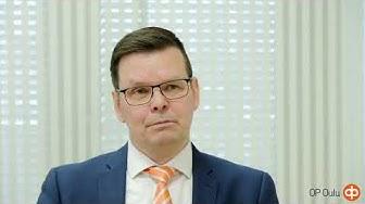 Oulun Osuuspankin pankinjohtaja Jari Anttila kertoo, miten pankki voi auttaa sinua vaurastumaan.