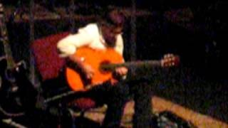 live in nyc al's acoustic solo.