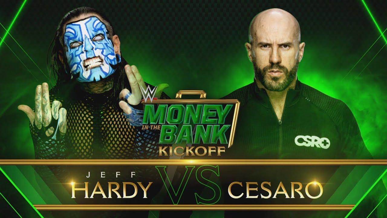 Download Jeff Hardy vs. Cesaro: WWE Money in the Bank 2020 Kickoff