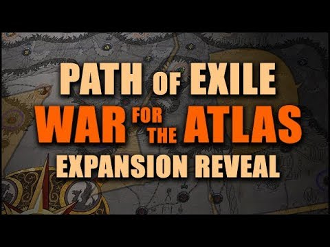PATH of EXILE: WAR FOR THE ATLAS 3.1 Expansion Reveal - Overview & First Thoughts