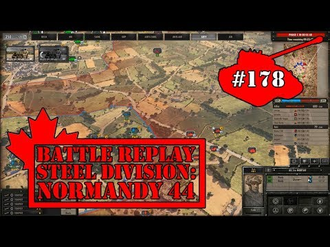 #178 - 6th Airborne Division - Steel Division Normandy 44 Gameplay