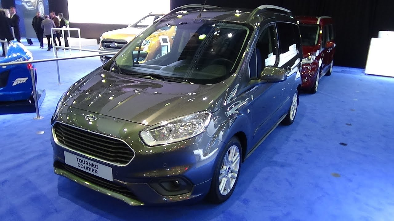 2018 ford tourneo courier exterior and interior auto. Black Bedroom Furniture Sets. Home Design Ideas